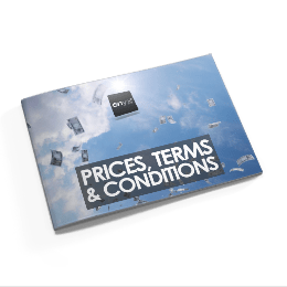 Terms and conditions of sale