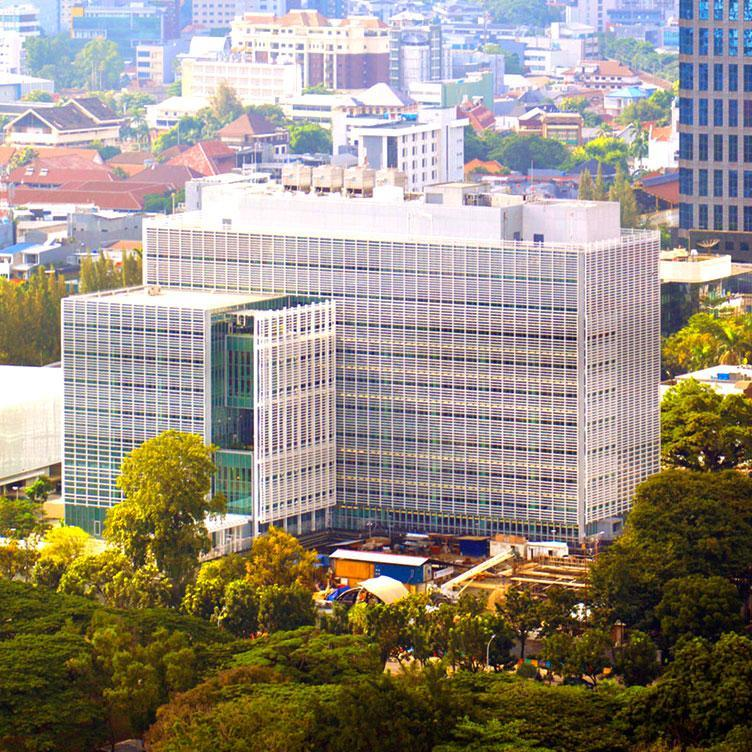 PHOTOVOLTAIC CANOPY - US EMBASSY OF JAKARTA