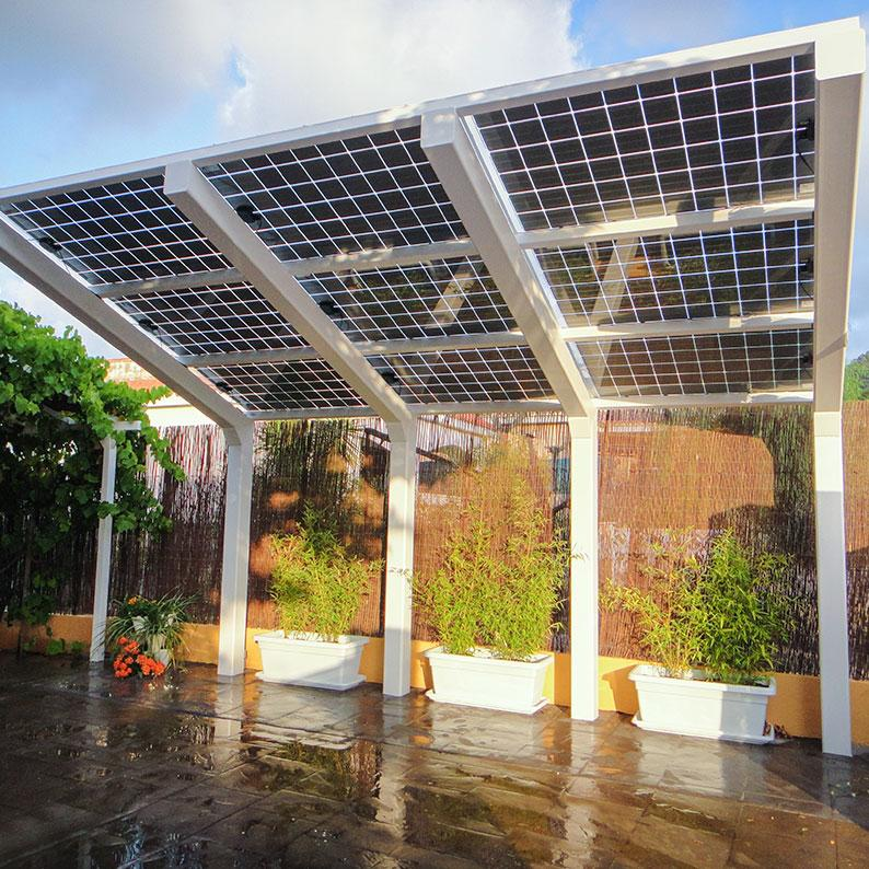 PHOTOVOLTAIC CANOPY - Sustainable Planet Advisors