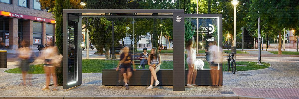 PHOTOVOLTAIC BUS STOP