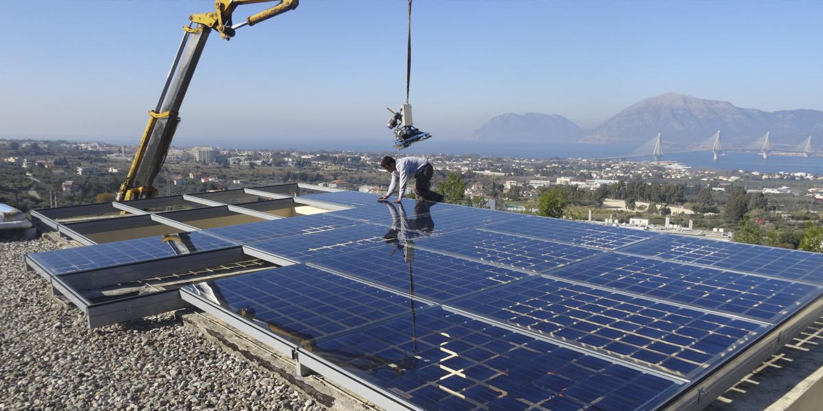 patras scientific park photovoltaic skylight onyx solar