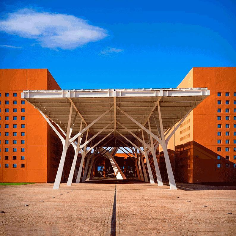 PHOTOVOLTAIC CANOPY - MOHAMMED UNIVERSITY